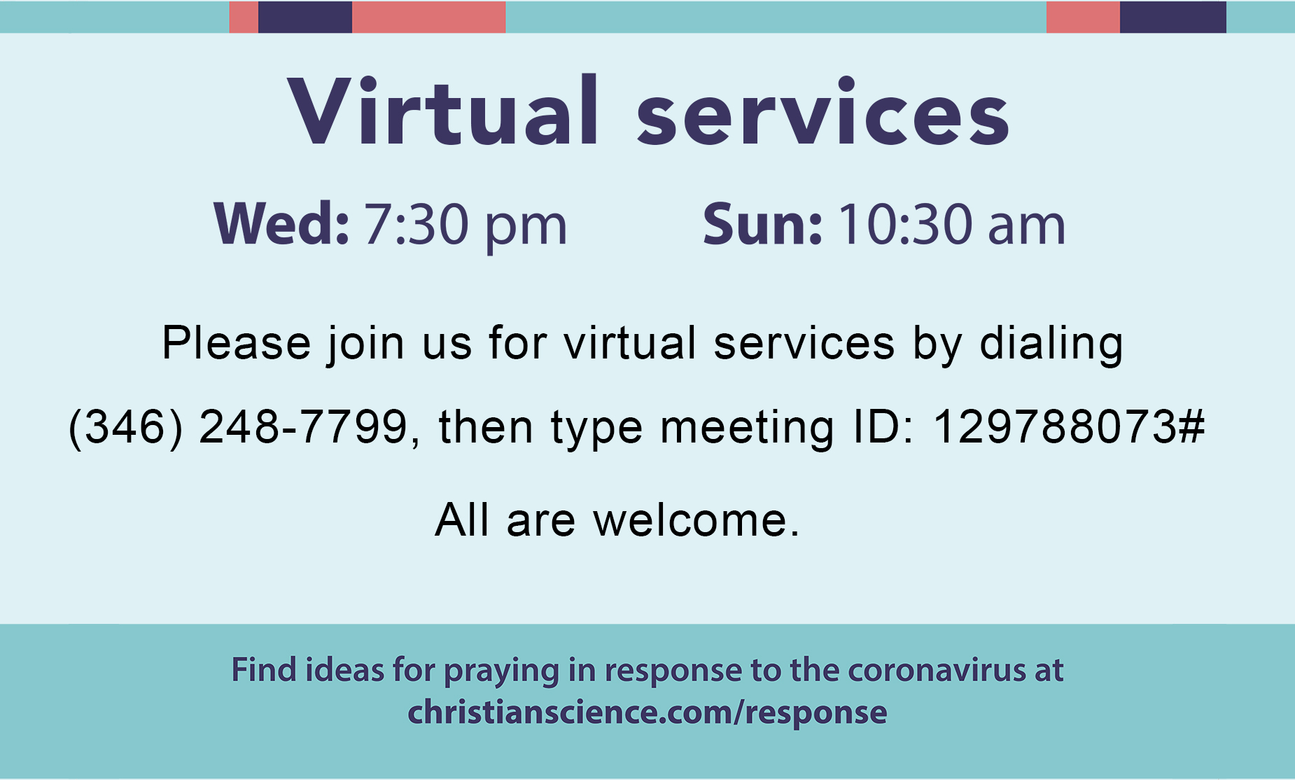 Webinar on Christian Science healing