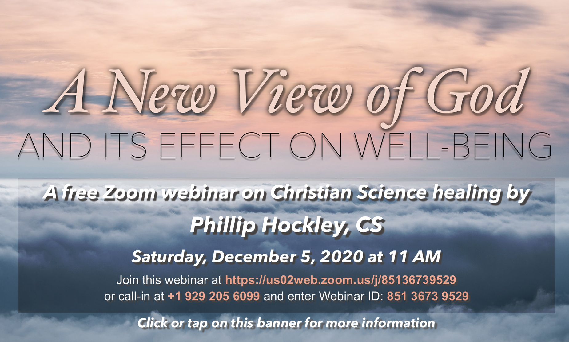 Webinar on Christian Science healing