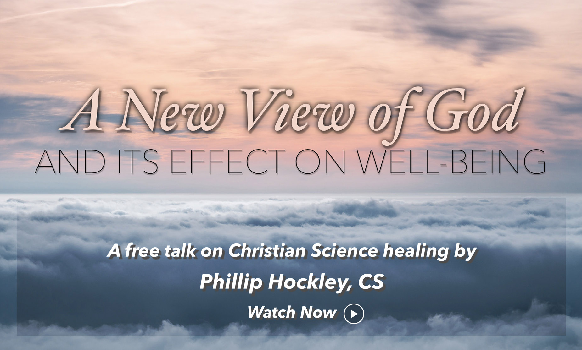 A New View of God and Its Effect on Well-Being