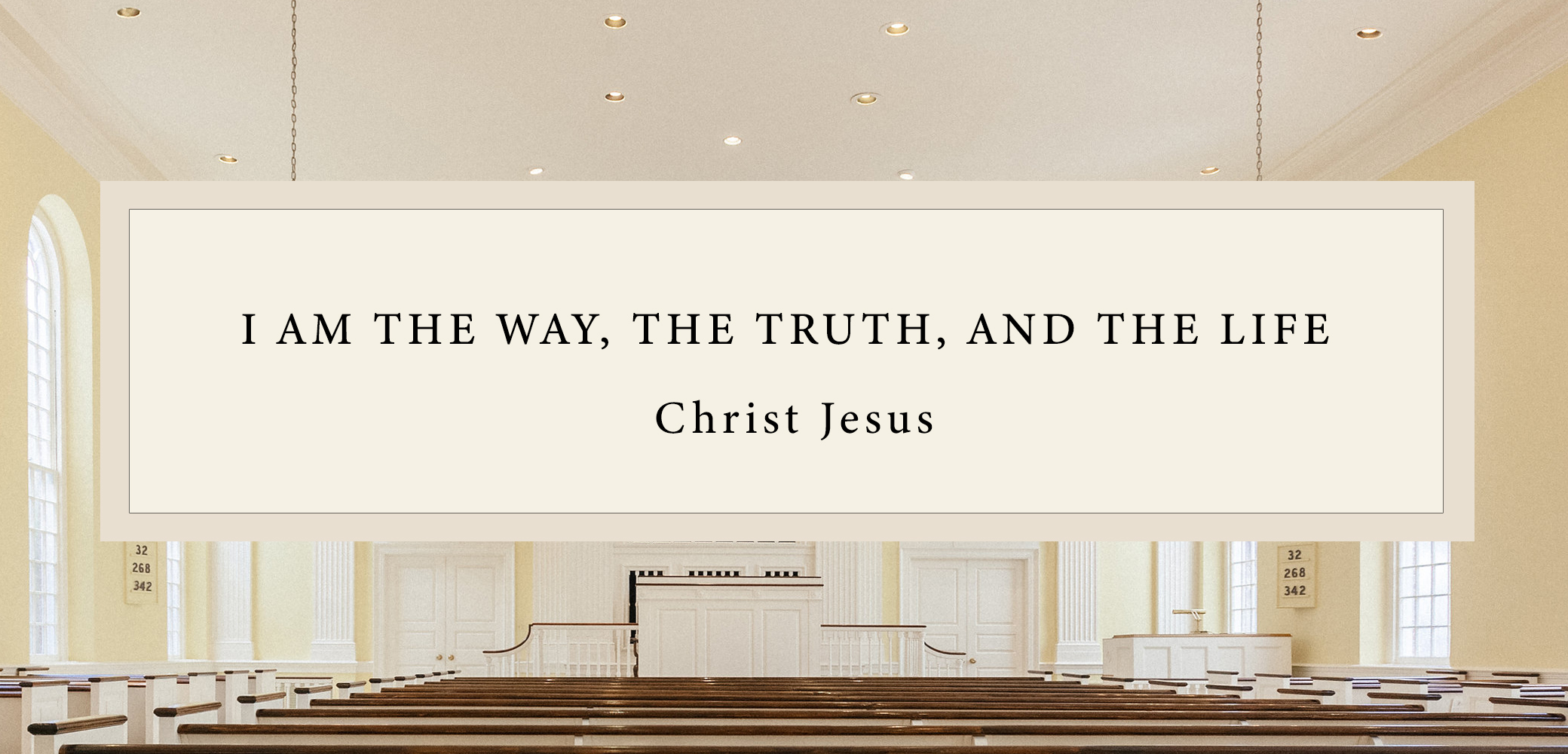 Christ Jesus quote